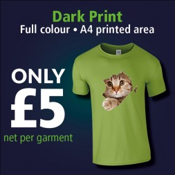 Clothing Printed Dark Print