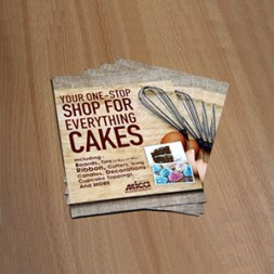 A6 Leaflets 250Silk Full Colour Single Sided