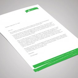 A4 Letterheads 100Bond Full Colour Single Sided Litho